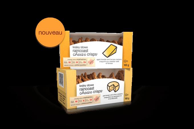 Emballage pournouveaux lesley stowe raincoast cheese crisps(MC)