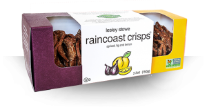 Packaging for Apricot, Fig and Lemon, raincoast crisps®