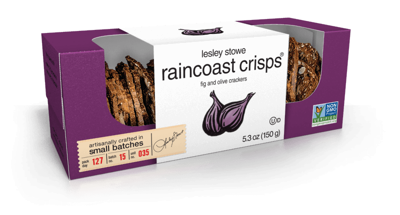 Fig and Olive, lesley stowe raincoast crisps®