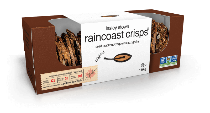 Emballage pourlesley stowe raincoast crisps® Original