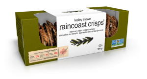 Packaging for Rosemary Raisin Pecan, lesley stowe raincoast crisps®