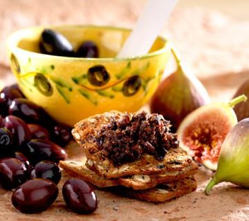 tapenade aux olives et aux figues