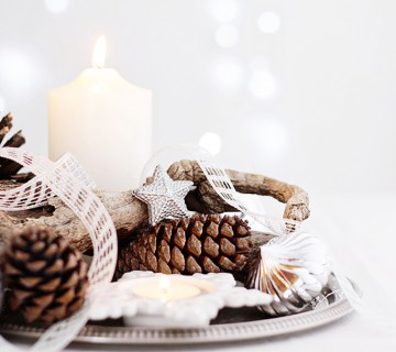 Bring the outdoors in for Christmas
