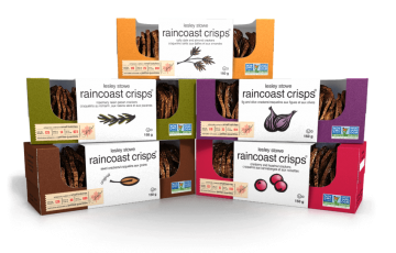 Packaging for raincoast crisps®