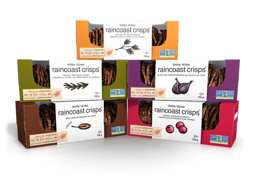 Emballage pourlesley stowe raincoast crisps®