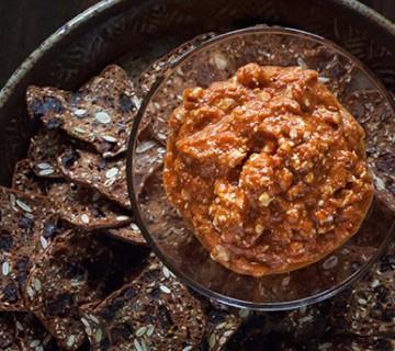 red pepper feta dip