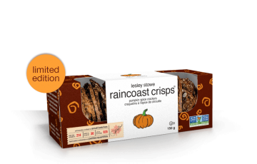 Packaging for limited edition lesley stowe raincoast crisps®