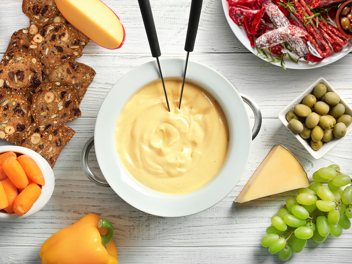 lesley's swiss fondue