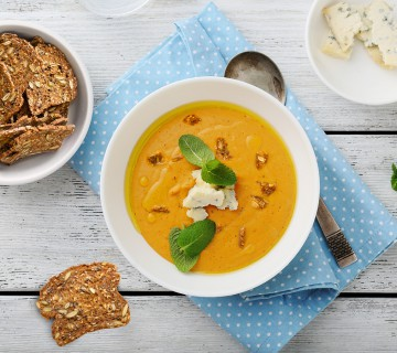 lesley's winter squash soup