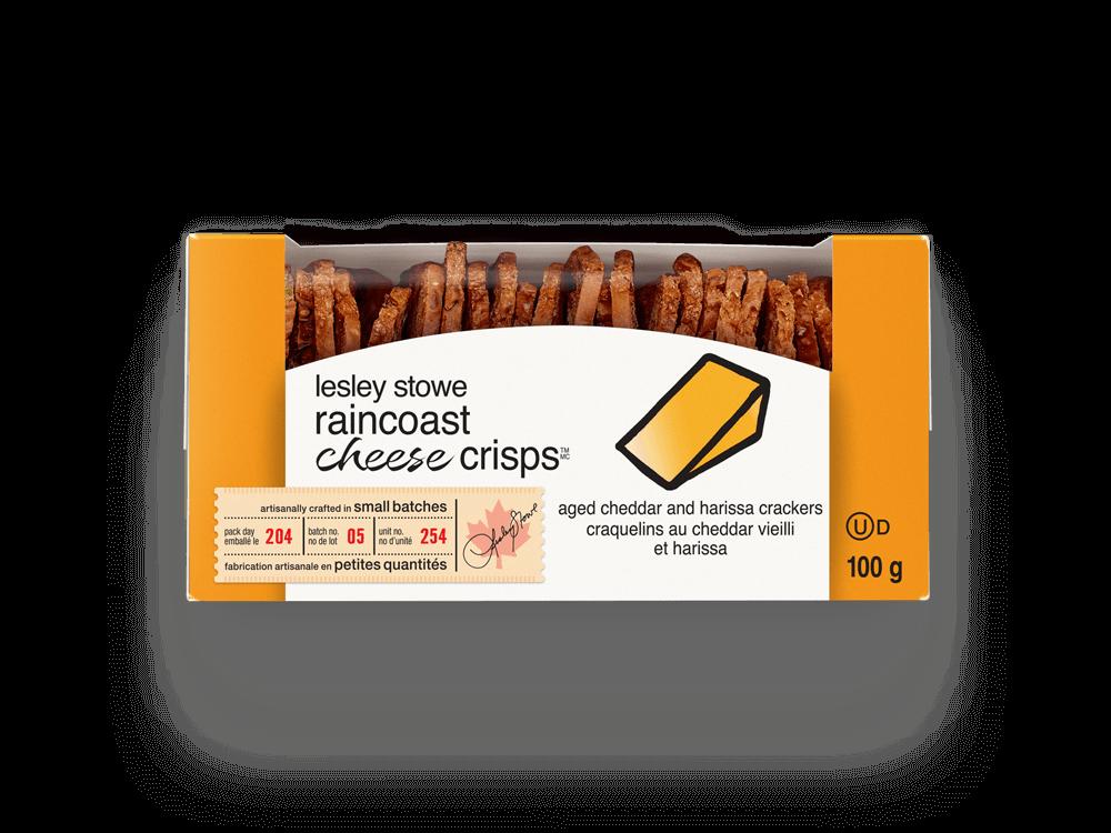 Emballage pour raincoast cheese crisps(MC)
