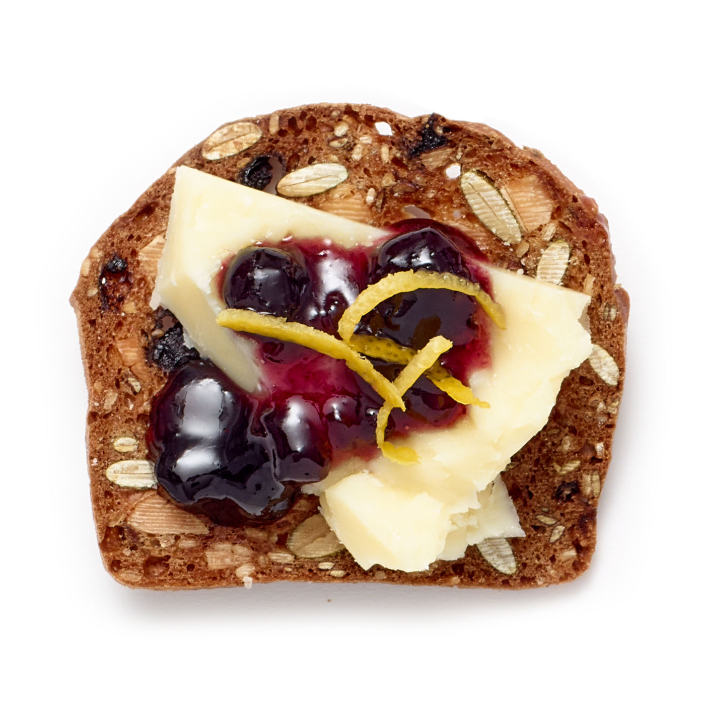 lesley stowe raincoast crisps® wild blueberry and almond