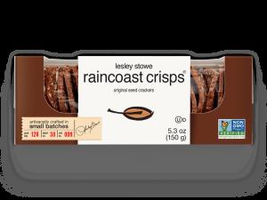Packaging for  lesley stowe raincoast crisps® original