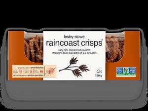 Emballage pour lesley stowe raincoast crisps® dattes salées et amandes